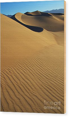 Golden Hour Wood Print by Bob Christopher