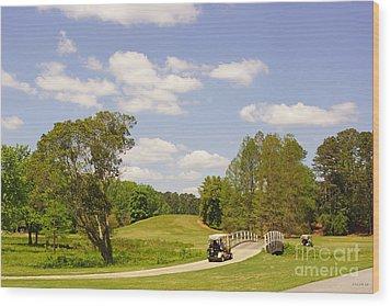 Golf At Calloway Gardens Wood Print by J Jaiam