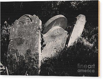 Gone But Not Forgotten Wood Print by Darren Burroughs