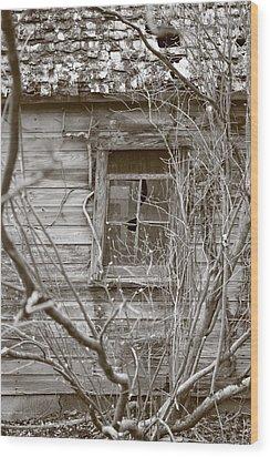 Gone Wood Print