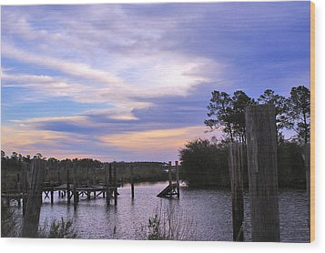 Wood Print featuring the photograph Gone Fishin.. by Brian Wright