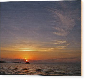 Wood Print featuring the photograph Good Morning by Brian Wright