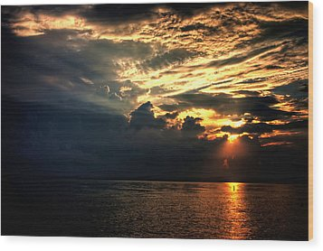 Wood Print featuring the photograph Good Morning by Joetta West