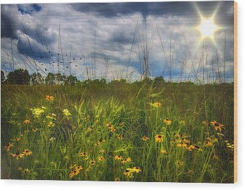 Good Morning Sunshine Wood Print by Bill Tiepelman