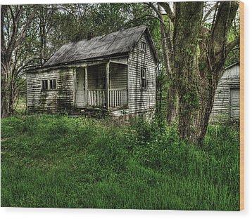 Gore Missouri Population Seven Wood Print by William Fields