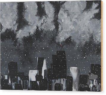 Gotham II Wood Print