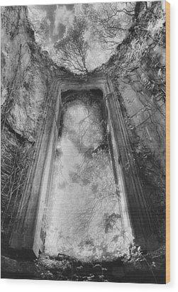 Gothic Window Wood Print by Simon Marsden