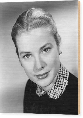 Grace Kelly, 1952 Wood Print by Everett