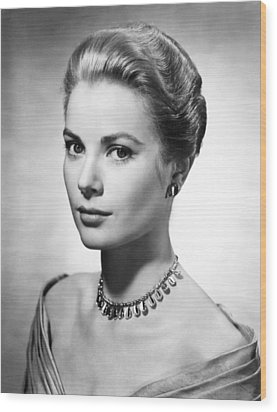 Grace Kelly, Ca. 1950s Wood Print by Everett