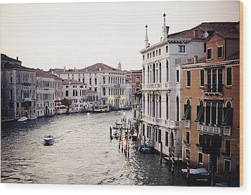 Grand Canal Wood Print by Stuart Westmorland