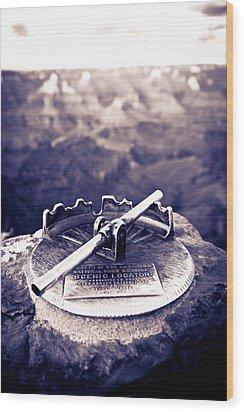 Grand Canyon - Sight Tube Wood Print by Scott Sawyer