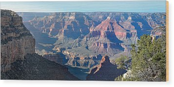 Wood Print featuring the photograph Grand Canyon - South Rim by Rod Seel