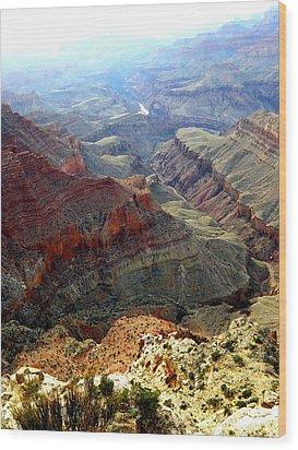 Grand Canyon 10 Wood Print by Tanya  Searcy