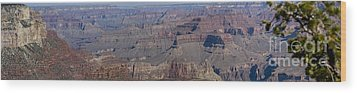 Grand Canyon From South Rim Wood Print by Tim Mulina