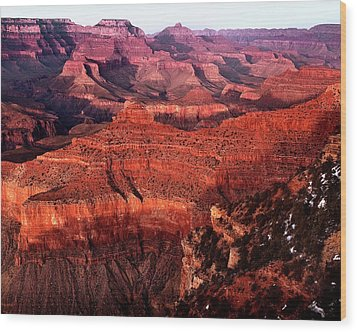 Wood Print featuring the photograph Grand Canyon by James Bethanis