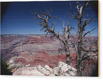 Wood Print featuring the photograph Grand Canyon Number One by Lon Casler Bixby
