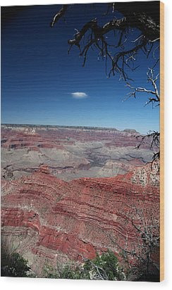 Wood Print featuring the photograph Grand Canyon Number Three by Lon Casler Bixby