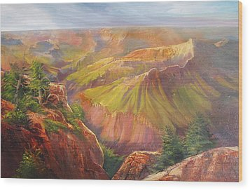 Grand Canyon Wood Print by Robert Carver