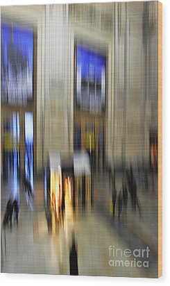 Wood Print featuring the photograph Grand Central Station Italian Style by Andy Prendy