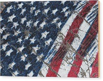 Grand Ol' Flag Wood Print by Bill Owen