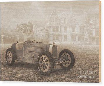 Grand Prix Racing Car 1926 Wood Print by Jutta Maria Pusl