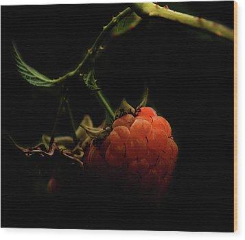 Grandmas Berries Wood Print by Jerry Cordeiro