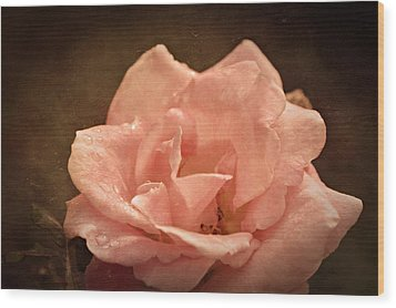 Grandmas Bloom Wood Print by Terrie Taylor