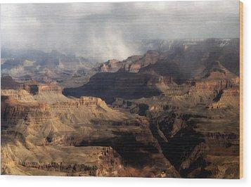 Granite Gorge Wood Print