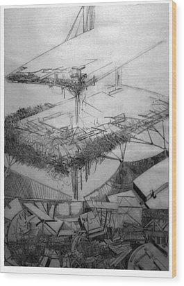 Graphic Art  Europa 2013 Wood Print by Waldemar Szysz