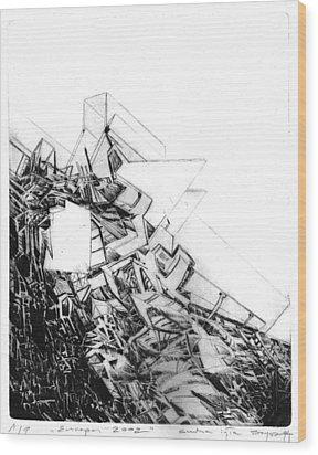 Graphics Europa 2014 Wood Print by Waldemar Szysz