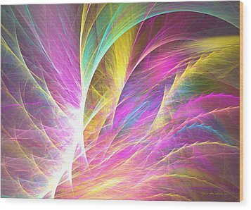 Grass Of Dreams Wood Print by Sipo Liimatainen
