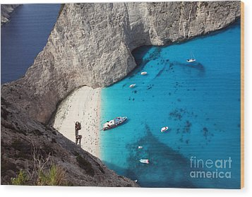 Wood Print featuring the photograph Greece by Milena Boeva
