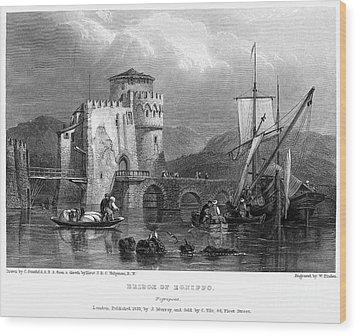Greece: Negropont, 1833 Wood Print by Granger