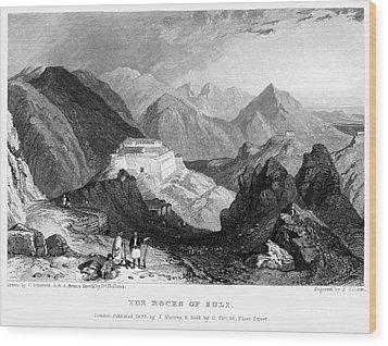 Greece: Souli, 1833 Wood Print by Granger