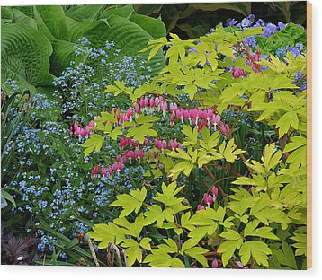 Wood Print featuring the photograph Green Bay Botanical Gardens by Judy  Johnson