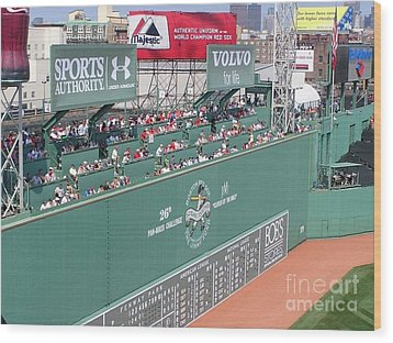 Green Monster Wood Print by Kevin Fortier