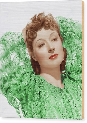 Greer Garson In Photo By Clarence Wood Print by Everett