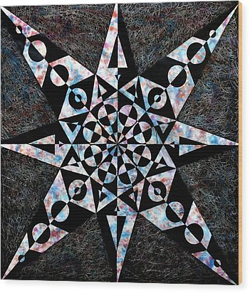 Grishtha Wood Print by Sumit Mehndiratta
