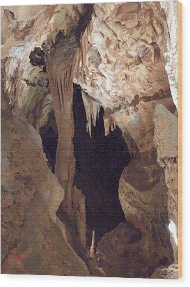Grotte Magdaleine Region Ardeche France Wood Print by Colette V Hera  Guggenheim