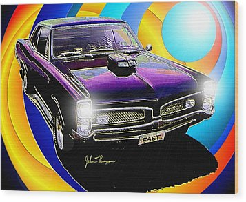 GTO Wood Print by John Thompson