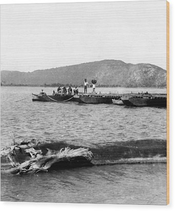 Guanica Harbor - San Juan - Puerto Rico - C 1899 Wood Print by International  Images