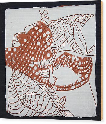 Guardian Angel - Tile Wood Print by Gloria Ssali