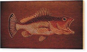 Gugupuguacu Brasil Wood Print by Li   van Saathoff