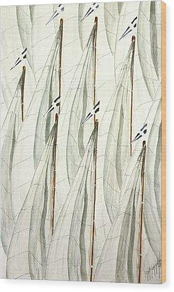 Guidoni Wood Print by Giovanni Marco Sassu
