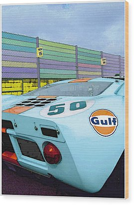 Gulf 50 Wood Print by Kenneth Breeze