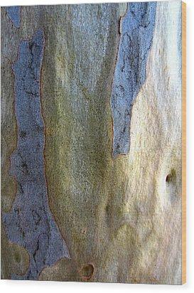 Wood Print featuring the photograph Gum Tree Bark by Roberto Gagliardi