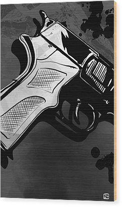 Gun Number 1 Wood Print by Giuseppe Cristiano