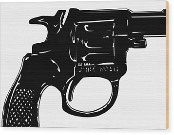 Gun Number 3 Wood Print by Giuseppe Cristiano