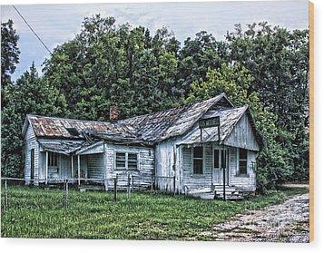 Gus Mitchell Wood Print by Joe Finney