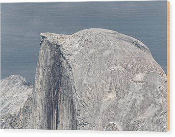 Half Dome From Glacier Point At Yosemite Np Wood Print by Michael Bessler